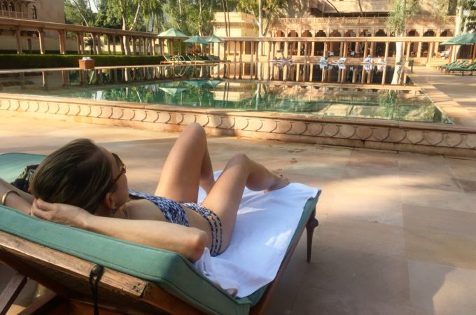 A luxury resort in the heart of India – Amanbagh Hotel
